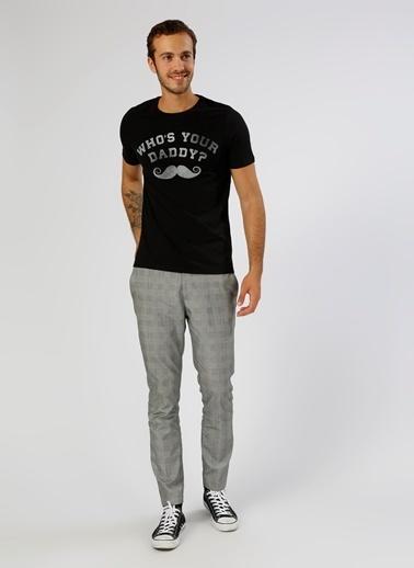 Jack & Jones Jack & Jones Baskılı Siyah T-Shirt Siyah